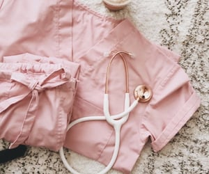pink, medicine, and nurse image