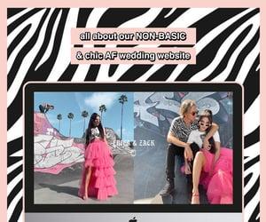 wedding planning, destination wedding, and wedding website image