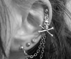 piercing, cool, and earrings image