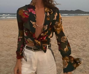 beach, clothes, and outfit image