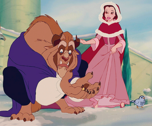 beast, disney, and beauty and the beast image