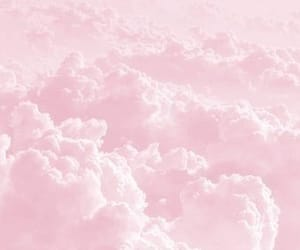 pink, clouds, and aesthetic image