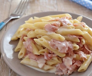 cream, food, and ham image