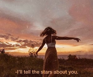 stars, quotes, and aesthetic image