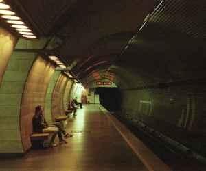 aesthetic, europe, and métro image