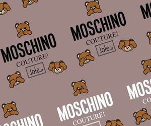 bear, Couture, and Moschino image