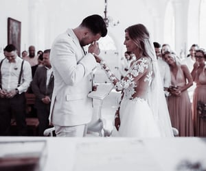 wedding, couple, and goals image