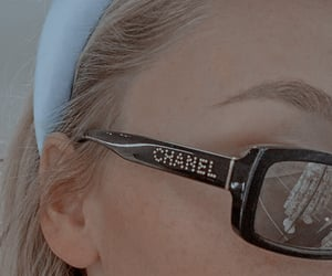 blue, girl, and chanel image