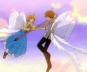 anime, sakura kinomoto, and anime gif image