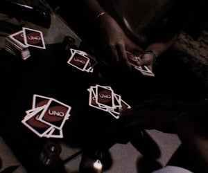 cards, evening, and friendship image