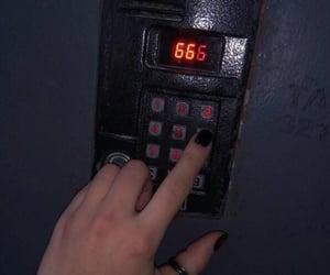 dark, grunge, and 666 image