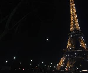 paris, night, and city image