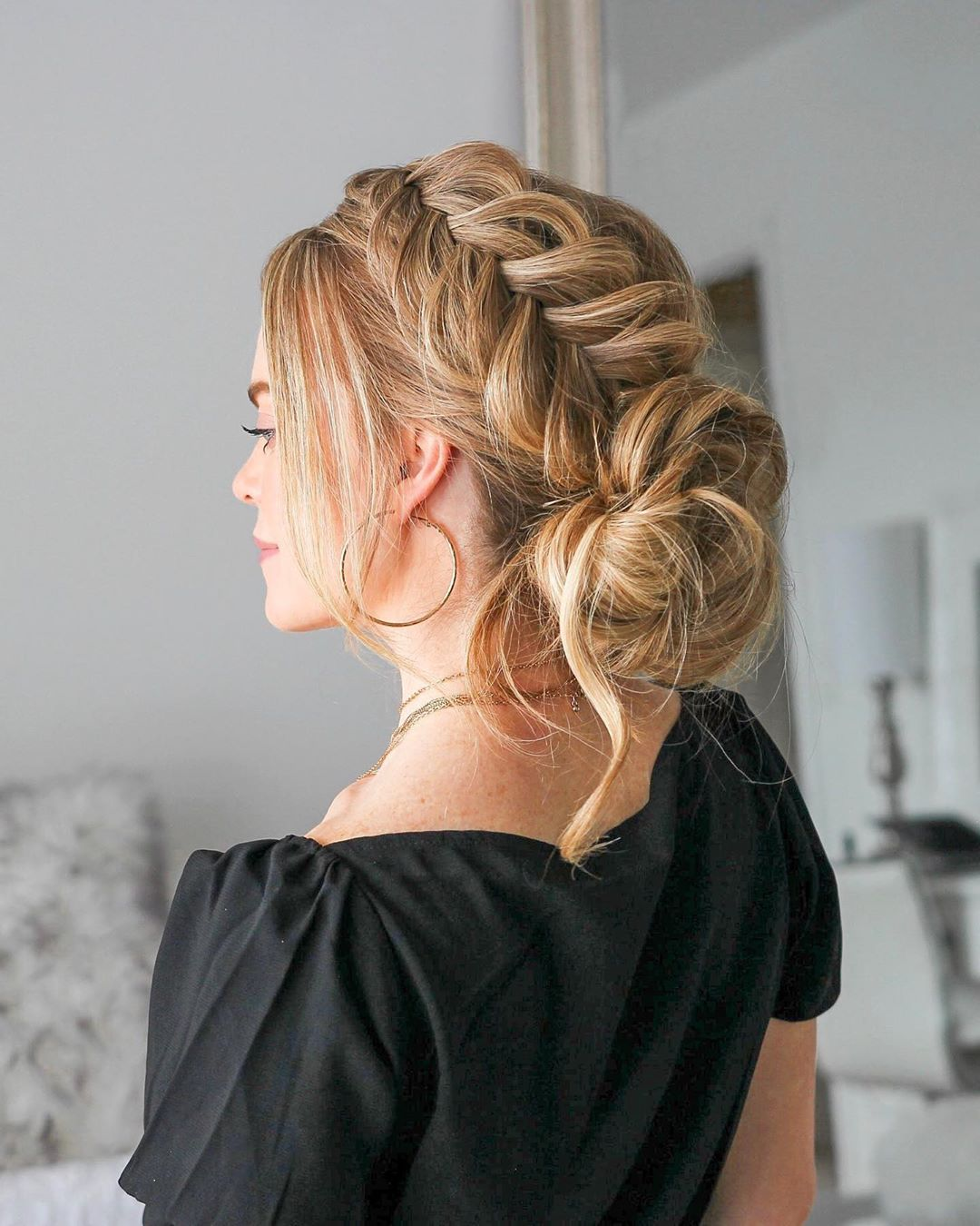 article, braid, and hair image