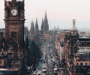 city, edinburgh, and photography image