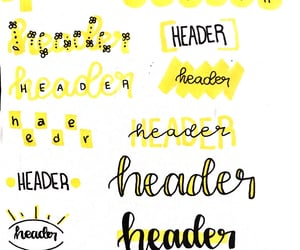 bullet, header, and ideas image