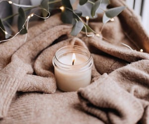 candle and cozy image