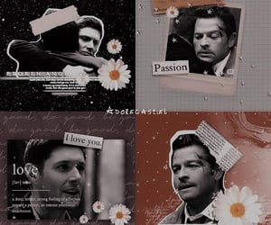 aesthetic, otp, and dean winchester image