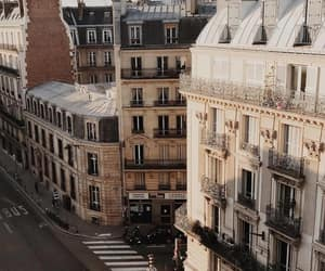 buildings, paris, and street image