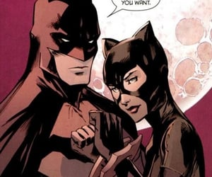 batman, comic, and catwoman image