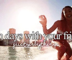 beach, justgirlythings, and friends image