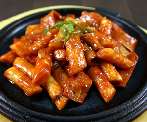 korean, spicy, and korean food image
