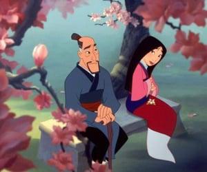 china, disney, and family image