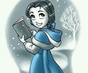 book, frozen, and snow image