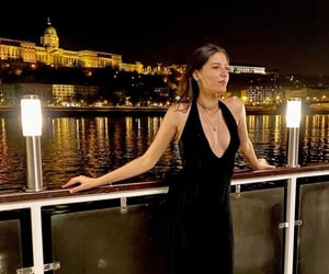 aesthetic, budapest, and gown image
