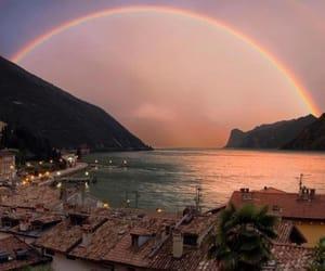 rainbow, nature, and travel image