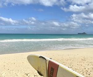 beach, hawaii, and Honolulu image