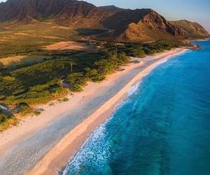 hawaii, ocean, and paysage image