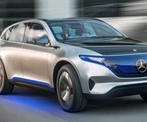 mercedes benz, electric cars, and battery electric cars image