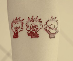 arm, awesome, and calvin image