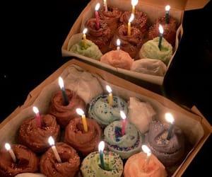 birthday, cake, and cupcake image