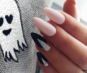 black, cutee, and glitter image