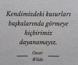 oscar wilde, alıntı, and türkçe sözler image
