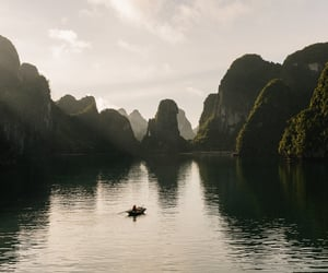 aesthetic, river, and Vietnam image