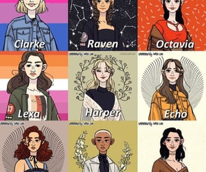characters, fanart, and women image