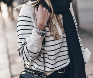 blogger, fashion, and leather pants image
