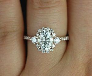 diamond, double, and wedding image