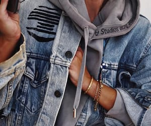 blogger, fashion, and jacket jeans image