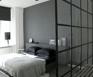 bedroom, style, and white image