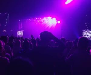 blue, concert, and lights image