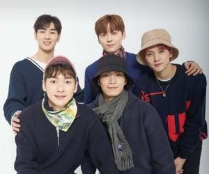 JR, ren, and hwang min hyun image