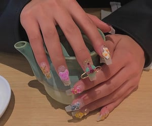 inspo, jewels, and nails image