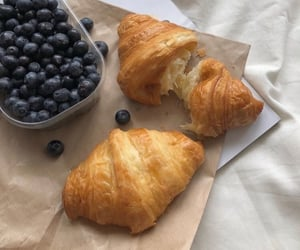food, soft, and croissant image
