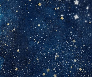 blue, stars, and wallpapers image