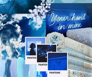 aesthetic, clouds, and pantone image