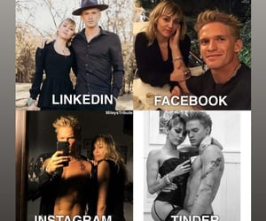 facebook, miley cyrus, and cody simpson image