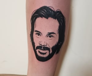 art, keanu reeves, and awesome image